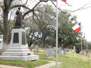 Texas State Cemetery - Joanna Troutman Memorial