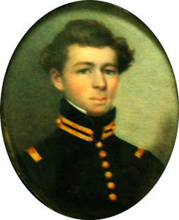 James Peter Trezevant (1815 - 1860) - in his Texas uniform -